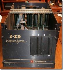 Cromemco Z2d Innards