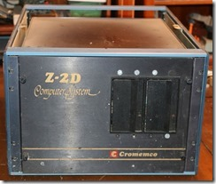 Cromemco Z2d With 2nd Party Case